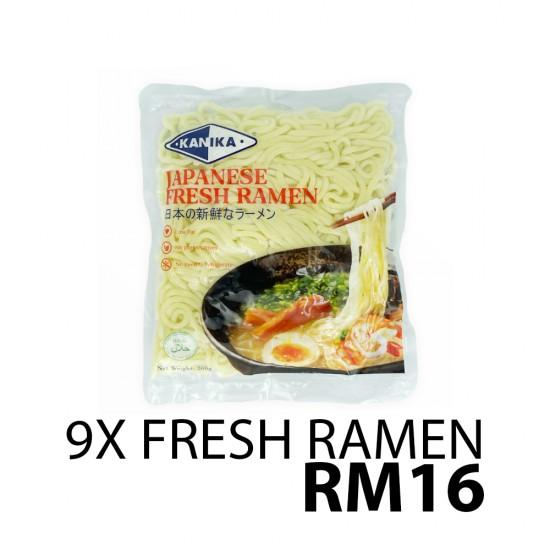 Kanika Fresh Ramen X9