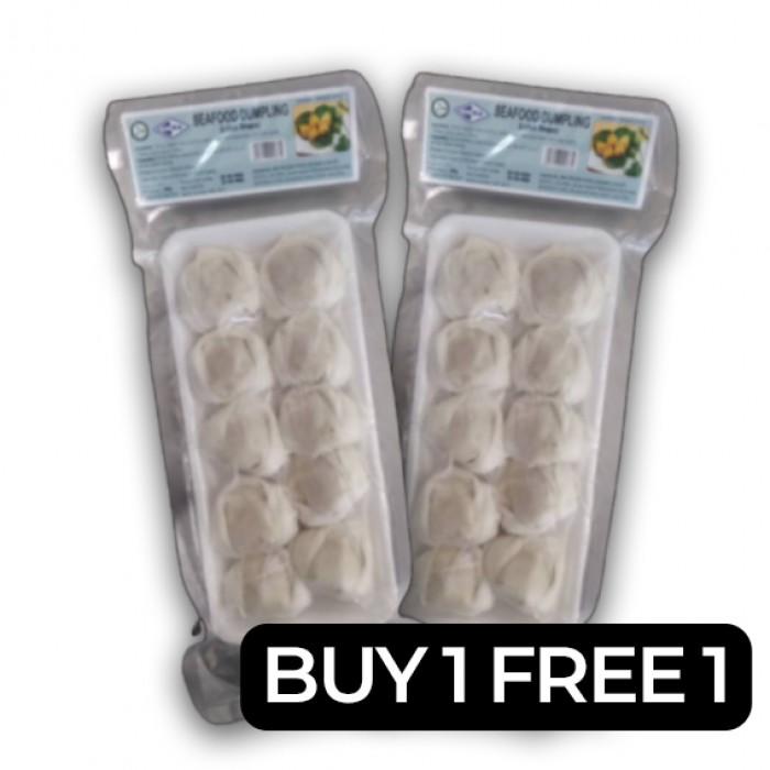 Kanika Lotus Seafood Dumpling *CLEARANCE* BUY 1 FREE 1 (200gm) [10pcs/tray]