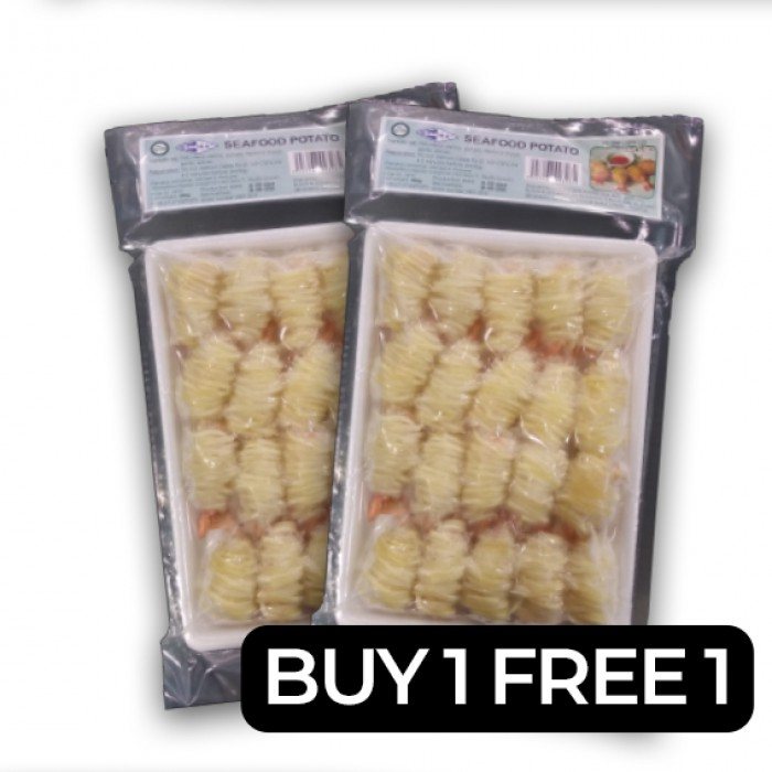Kanika Seafood Potato *CLEARANCE* BUY 1 FREE 1 (400gm)