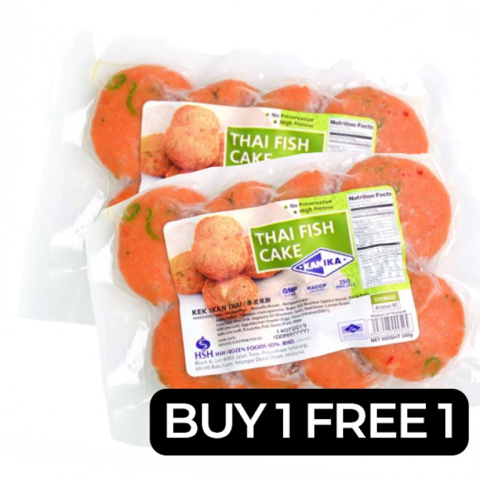 Kanika Thai Fish Cake *CLEARANCE* BUY 1 FREE 1 (160gm)
