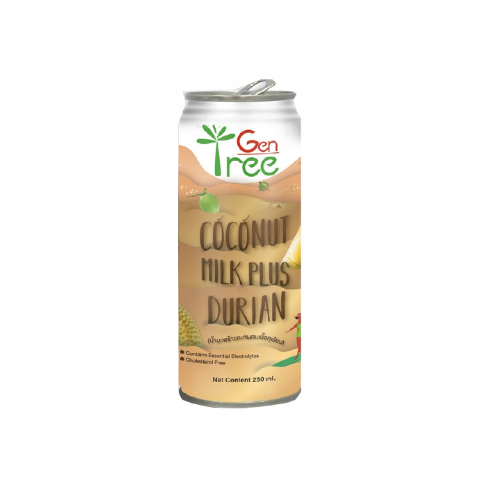 Gentree Coconut Milk Plus Durian 240ml