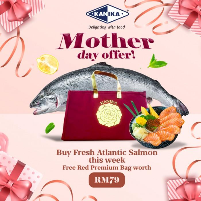 Fresh Salmon - Atlantic Air-Flown Sashimi Grade (Mother Day Offer- Free Premium Bag)
