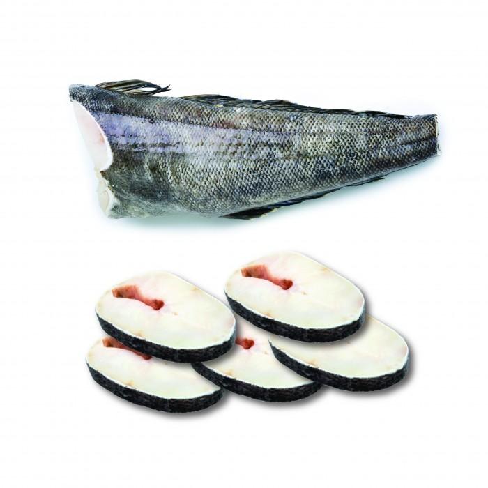 Kanika Chilean Cod Fish Headless  (17packs x 200gm+-)