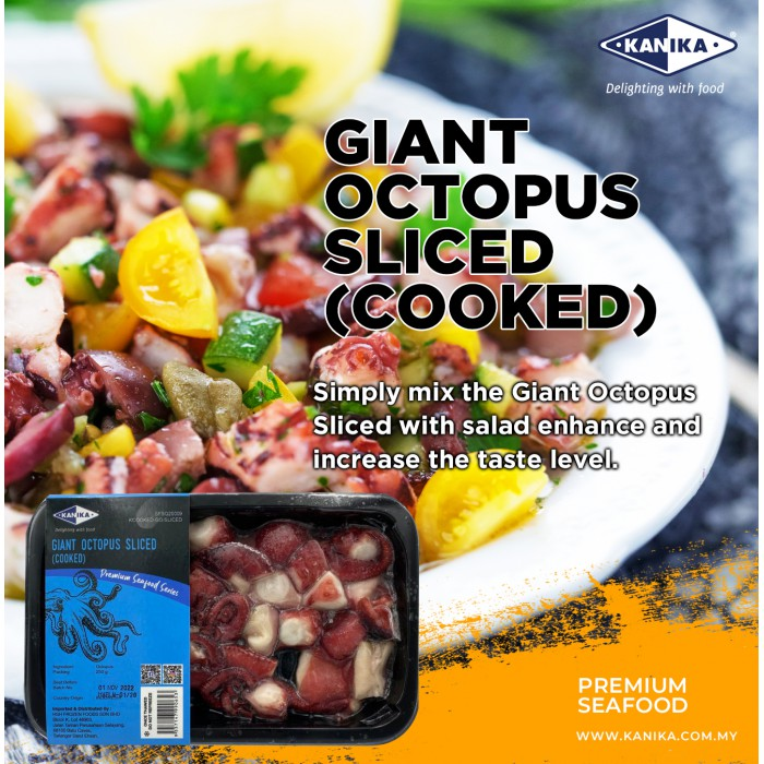 Giant Octopus Sliced (Cooked) 250gm