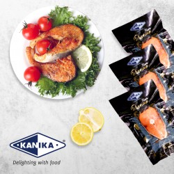 Kanika Salmon Block (Thick Sliced) 200gm