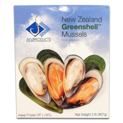 Seaproduct New Zealand Greenshell Mussel (907gm)