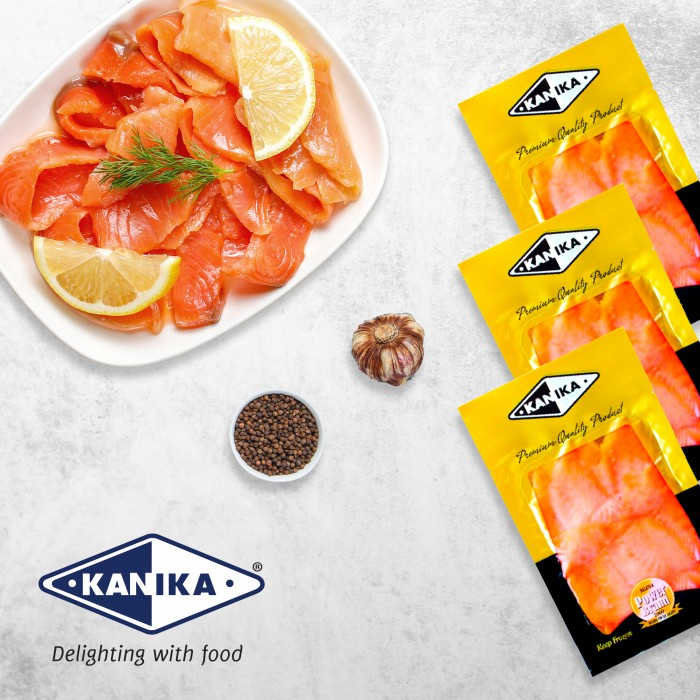 Kanika Smoked Salmon Fillet (100gm)