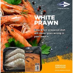 White Prawn (HOSO) 450gm [5-6pcs/tray]