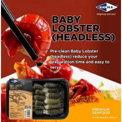 Baby Lobster (Headless) 200gm [5g-20g/pc]