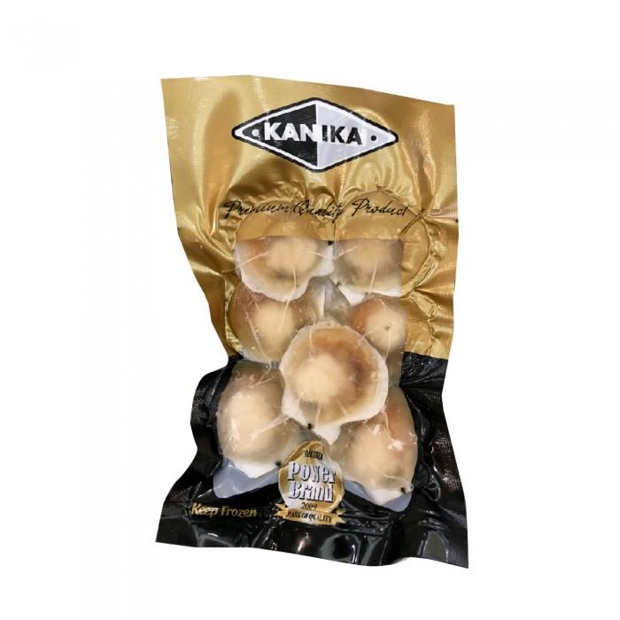 Kanika Half Shell Scallop 6-7cm (250gm)