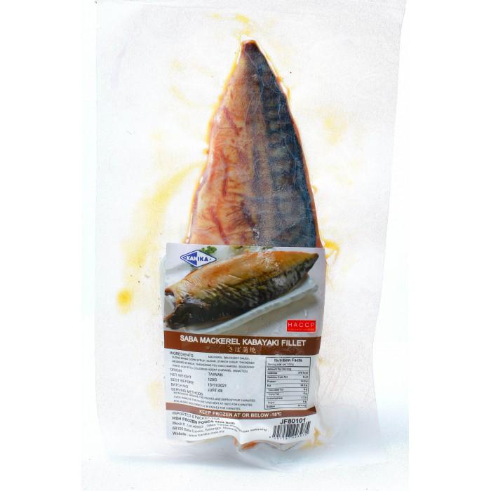 Kanika Kabayaki Saba Mackerel Fillet (140gm)