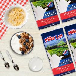 Milky Lux Full Cream Milk (1L)