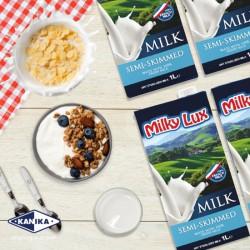 Milky Lux Semi Skimmed Milk (1L)
