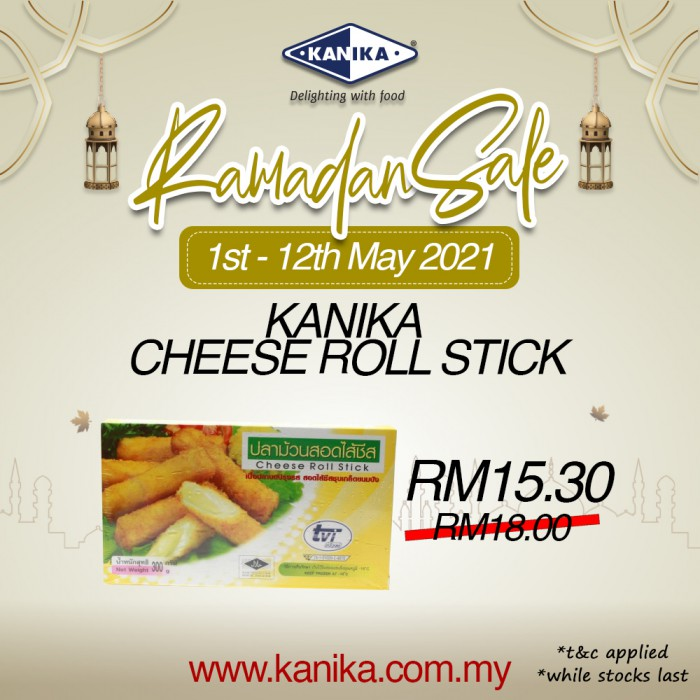Kanika Breaded Cheese Roll (300gm)