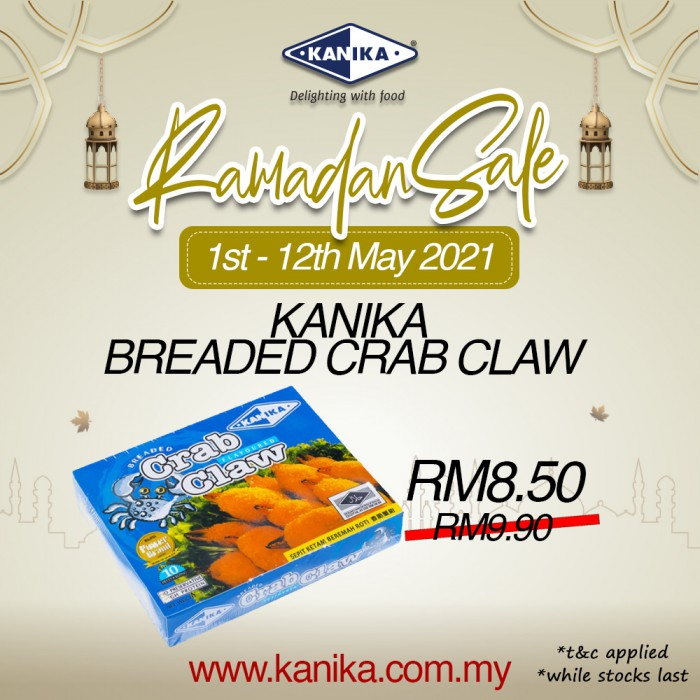 Kanika Breaded Crab Claw (250gm)