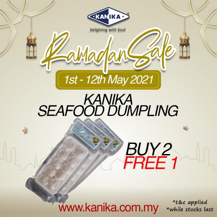 Kanika Lotus Seafood Dumpling (200gm) [10pcs/tray] Buy2Free1