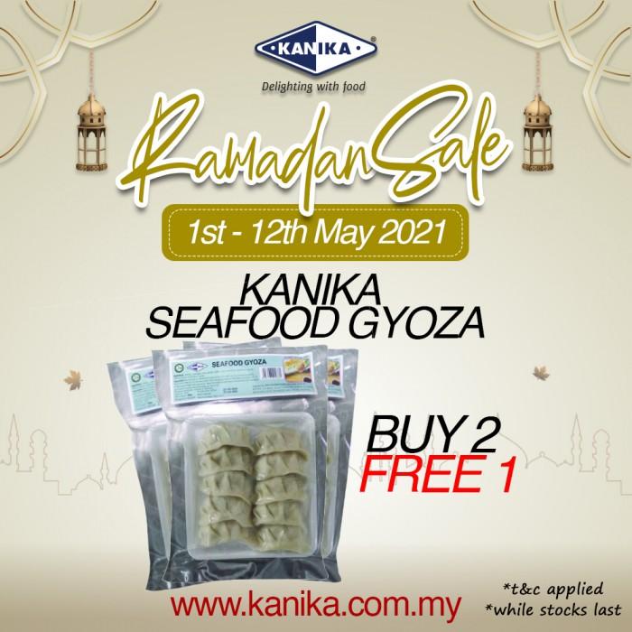 Kanika Seafood Gyoza(200gm) Buy2Free1