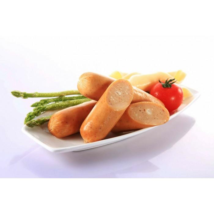 "Jumbo Frankfurter Cheese Sausage 7"""