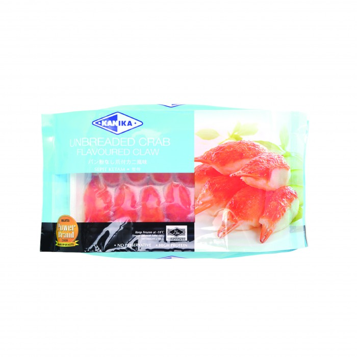 Kanika Unbreaded Crab Claw Retail Pack (180gm)