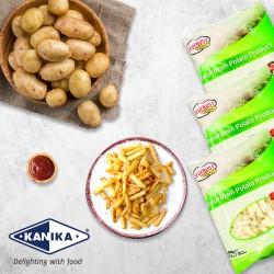 Ecofrost Belgium Fries Crinkle Cut 1kg(+-)