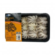Whole Cleaned Baby Octopus 40/60 (250gm)